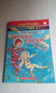The Magic School Bus chapter book the great shark Escape