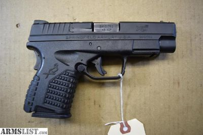 For Sale: Springfield XDS 45 4.0 with Two Magazine & More $429.00