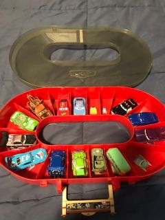 Cars and Carrying Case (collectibles)