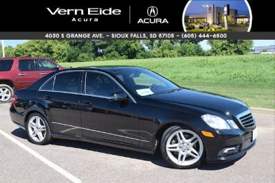 2011 Mercedes-Benz E-Class E350 4MATIC Luxury (black)