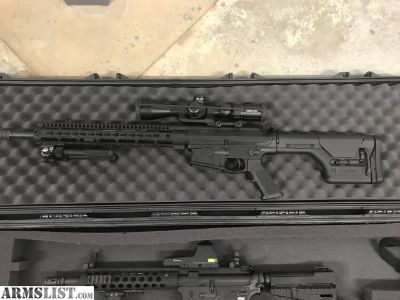 For Sale/Trade: aero precision ar10 with extras