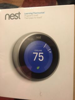 Nest Learning Thermometer WiFi/Bluetooth, android