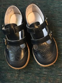 Navy blue toddler shoes size 6 1/2