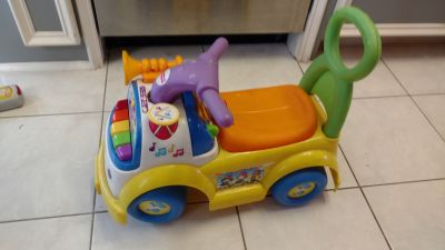Musical ride on toy