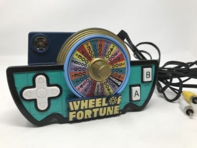 Jakks Pacific Wheel of Fortune Game Show Plug n Play TV Game