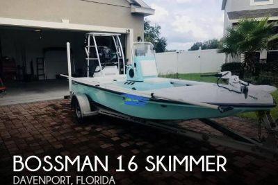 2015 Bossman 16 skimmer