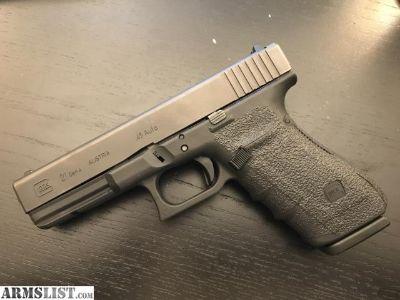For Sale/Trade: Glock 21 Gen 4, .45 ACP