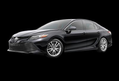 2019 Toyota Camry XLE (Midnight Black Metallic)