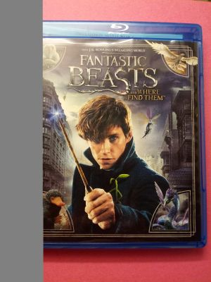 Fantastic Beast And Where To Find Them Blue ray