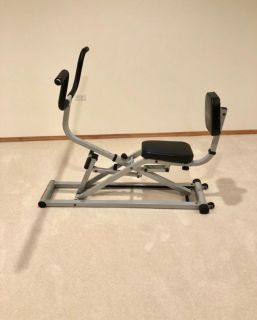 Ab workout gym machine