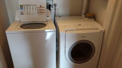 Very nice - Washer and Dryer