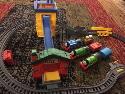Thomas & Friends Track Master Sort & Delivery Set