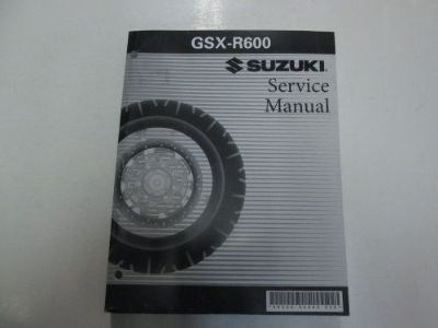 Sell 2004 Suzuki GSX-R600 GSXR600 Service Repair Manual MINOR WATER DAMAGE STAINS *** motorcycle in Sterling Heights, Michigan, United States, for US $29.95