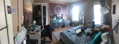 Need a subleaser for Jan--July, 4bdr, 2bath.