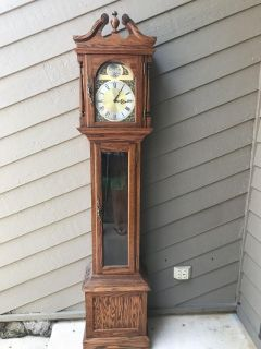FREE grandfather clock - has all parts but not working right now