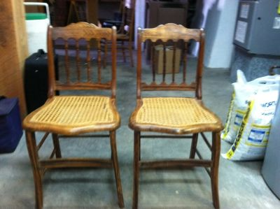Cane Chairs (antique)