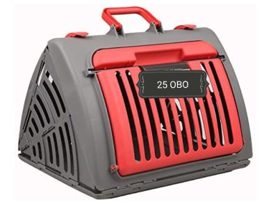NEW Foldable Pet Carrier. Great for cats or small animals.