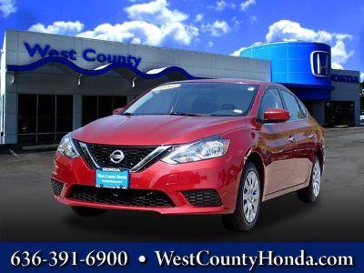 2016 Nissan Sentra S (Red Alert)