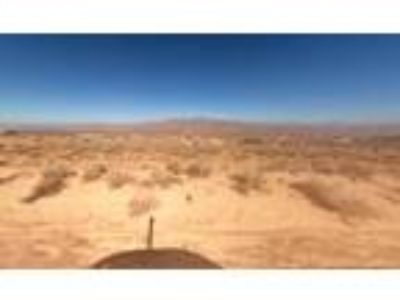 2.5 Acres for Sale in Apple Valley, CA