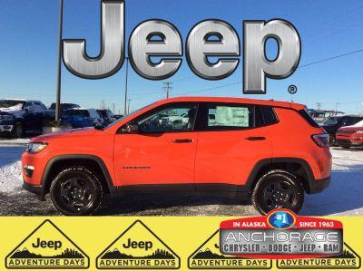 2019 Jeep Compass Sport (Spitfire Orange)
