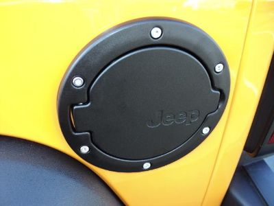 Purchase DCH Jeep JK Wrangler Unlimited 4 door gas fuel door BLACK new MOPAR 82210609 motorcycle in Temecula, California, US, for US $109.14