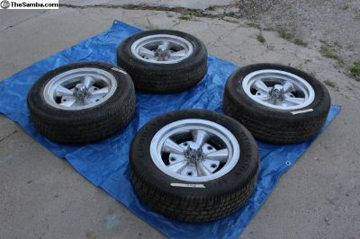 Full set of Crestline wheels