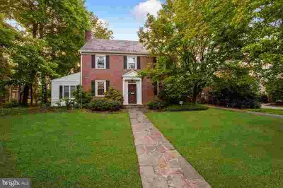3312 Fallstaff Rd BALTIMORE, brick center hall Five BR/2.Two BA