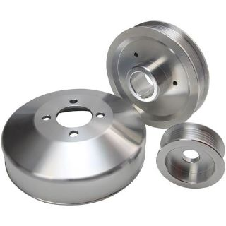 Sell 1996-98 Mustang 4.6 GT, 96-99 Cobra Aluminum 3pc Underdrive Pulley Kit Machined motorcycle in DeLand, Florida, US, for US $109.99