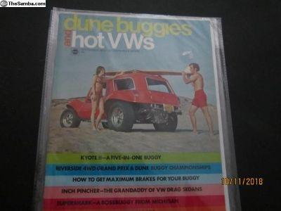 dune buggies and hot VWs magazine 1970 September