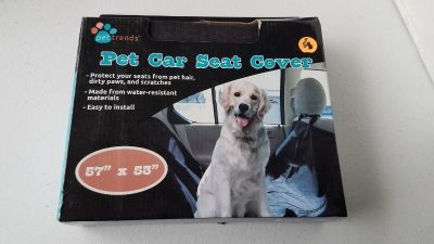 New Dog car seat cover
