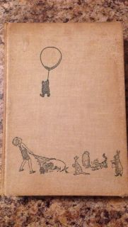 Vintage 1957 World of Pooh book Collectable
