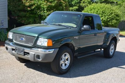 2003 Ford Ranger XLT FX4 Level II (Dark Highland Green Metallic)