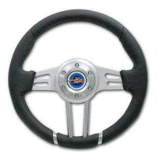 "Find Yamaha Rhino Pro One 12-3/4"" Leather Steering Wheel Combo with Cover & Adapter motorcycle in Buena Park, California, US, for US $120.00"