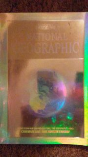 National Geographic December 1988 Holographic Mag