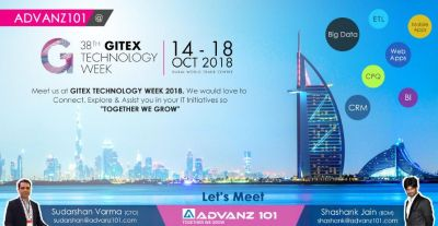 Meet Our CRM Experts At Gitex 2018