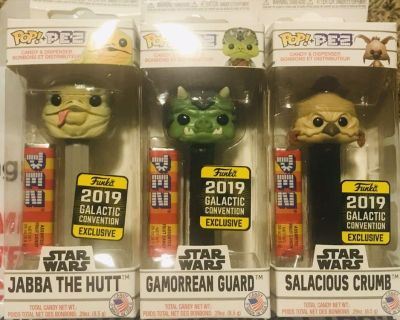 Star Wars Funko Pez Limited Edition