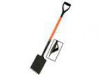 Kraft Tool GGD Roofing-Shingle Shovel with D Fiberglass Handl