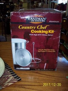 Eastman Outdoors Country Chef Cooking Kit