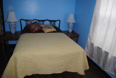double bed with mattress- new mattress