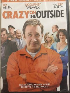 NEW/SEALED - Crazy on the Outside DVD
