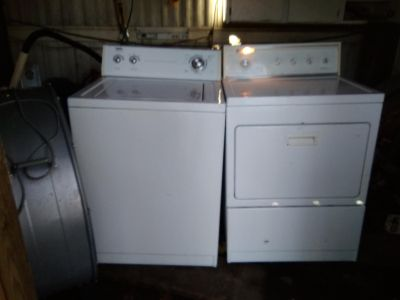 I have a mismatched washer and dryer for sale