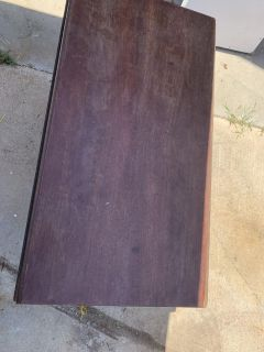 Real wood antique table