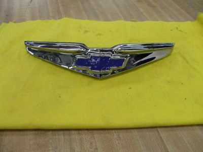 Buy 1948 Chevy trunk emblem ORIG NEWLY [triple] PLATED L@@@@@@@@@K motorcycle in Springfield, Ohio, United States, for US $165.00