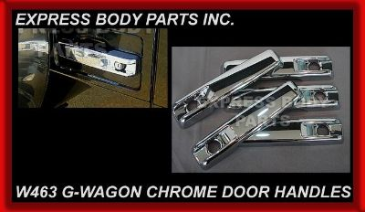 Purchase MERCEDES G-WAGON W463 G G63 G500 G550 G55 DOOR HANDLE CHROME SET 5 PIECES NEW motorcycle in North Hollywood, California, US, for US $79.99