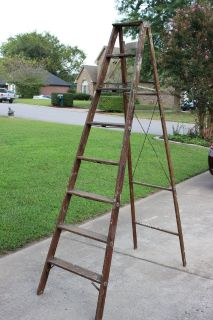 Wooden Ladder (price reduced)