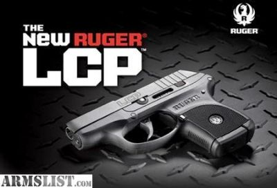 For Sale: NIB Ruger LCP .380