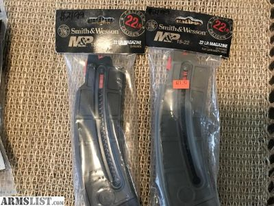 For Sale: Smith Wesson mp15~22 25rd magazines