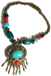 Ethnic Style Modern Beads Necklace