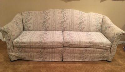 "84"" camelback sofa"