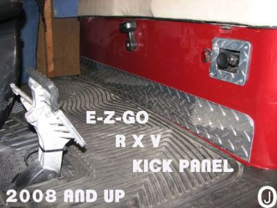 Purchase Ezgo RXV Golf Cart Diamond Plate Kick motorcycle in Elmwood Park, Illinois, United States, for US $26.95